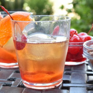 Bourbon Old Fashioned – A Camping Cocktail