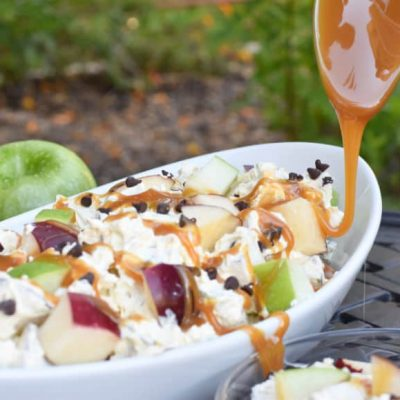 Caramel Apple Salad – Fall Camping At Its Finest