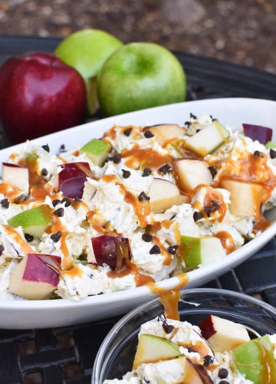 Caramel Apple Salad Vertical