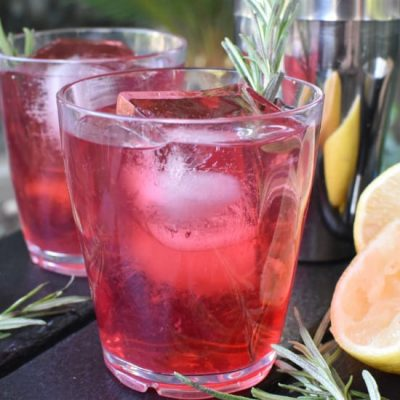 Cranberry Whiskey Sour – Camping Cocktails For Fall