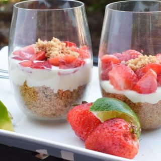 No Bake Mini Cheesecakes – Delish Camping Dessert