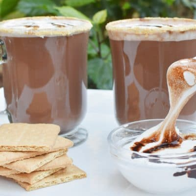 S'mores Hot Chocolate – Elevate Your Camping Game