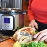 Instant Pot Whole Chicken Vertical