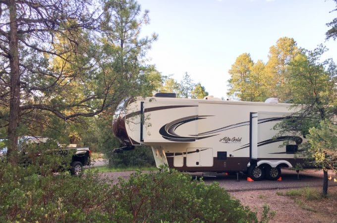 Fifth Wheel Camping Games