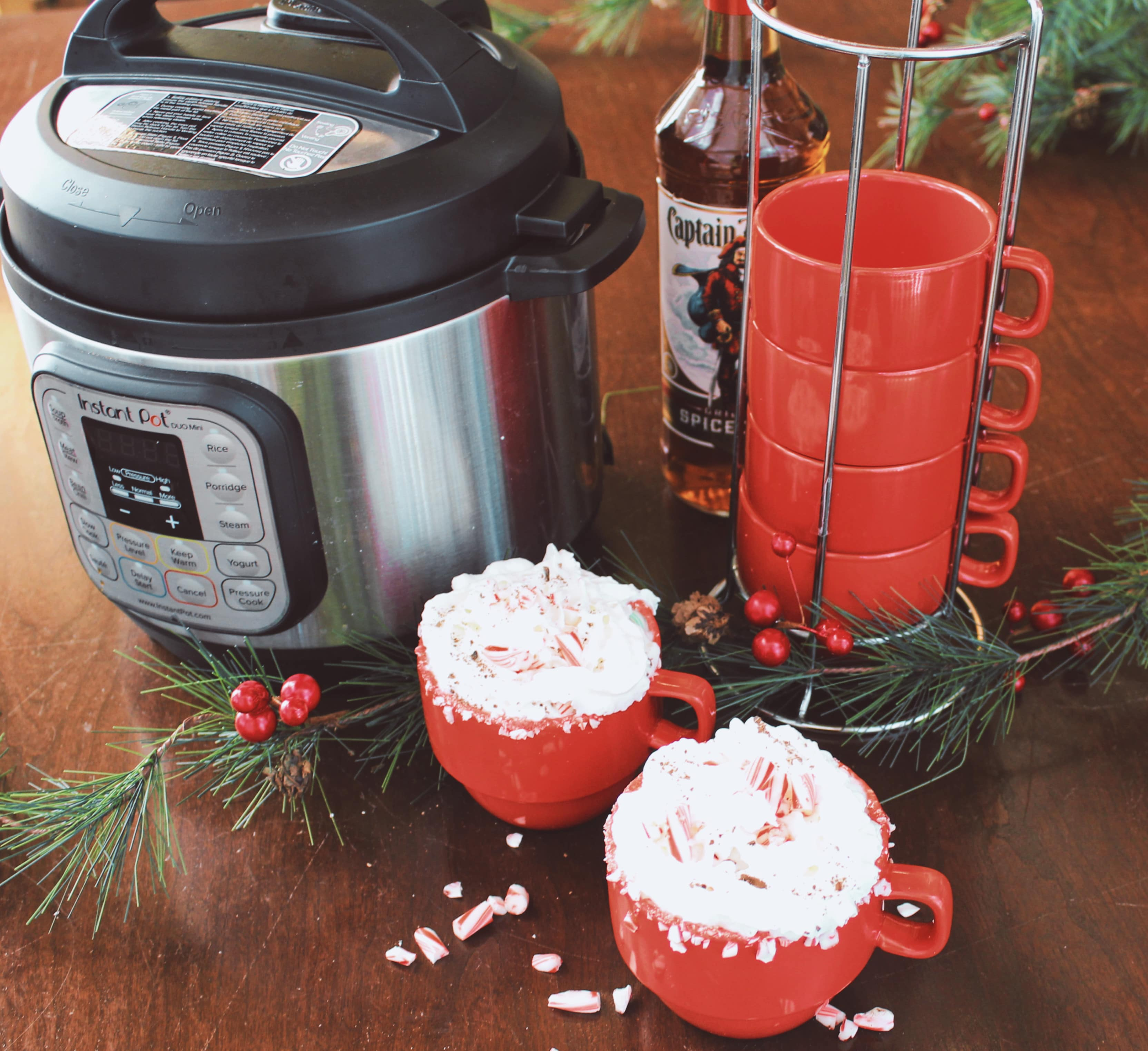 Spiked Peppermint Mocha Latte A Great Party Drink