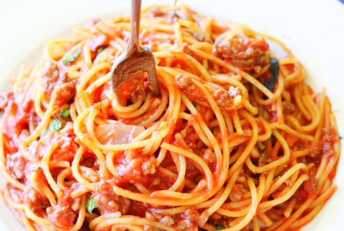 top 10 recipes of 2018 Easy Camping Meals Pasta with Fork