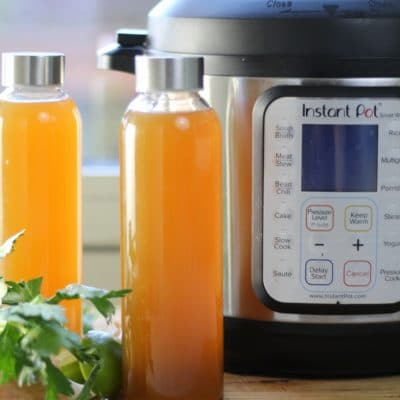 Instant Pot Bone Broth – So easy. So healthy.
