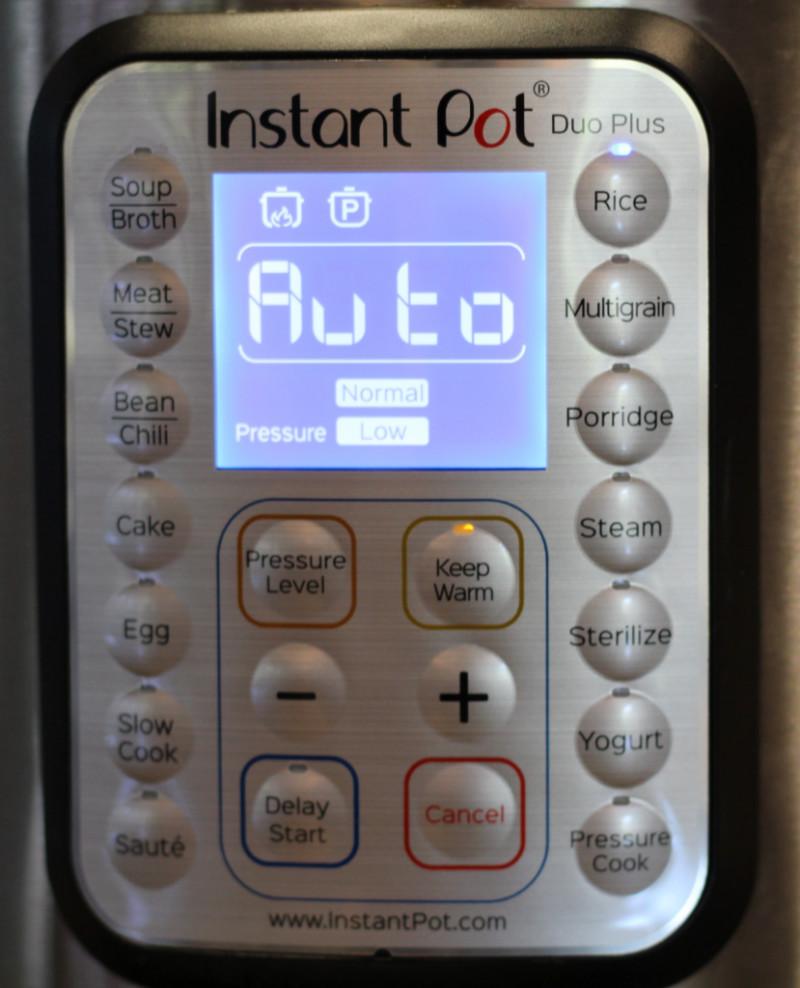 Pressure Cooker Rice Button