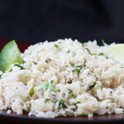 Pressure Cooker Rice – Cilantro Lime. Easy and delish!