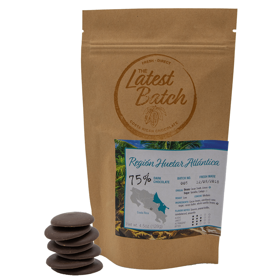 Costa Rica Chocolate Vertical bag