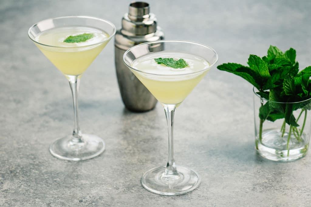 Pineapple Vodka Cocktail Horizontal Martini Small