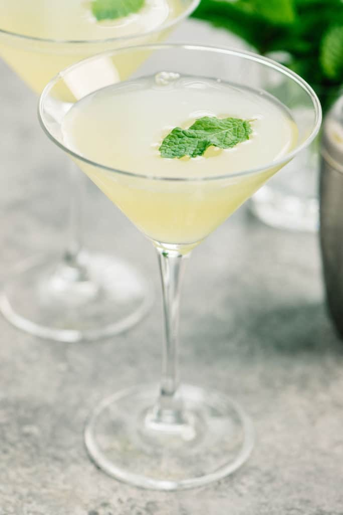 Pineapple Vodka Cocktail Mint Vertical small