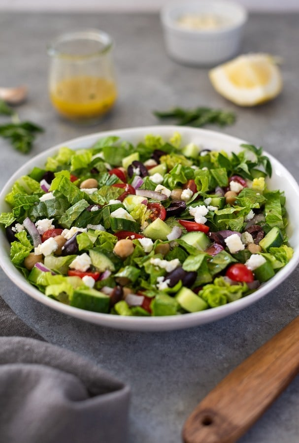 best green salad recipes greek-chopped-salad-2
