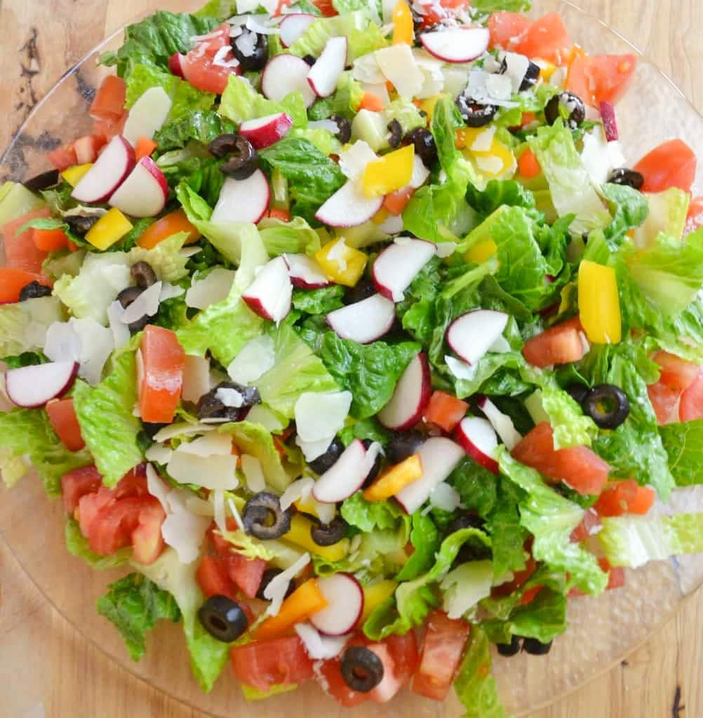 best green salad recipes classic green salad square