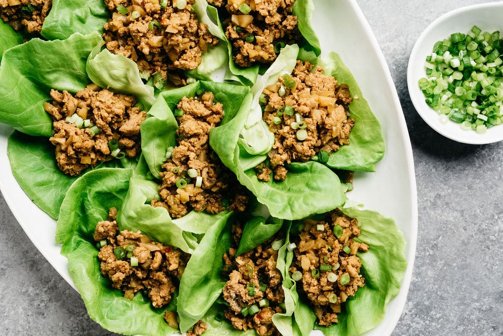 Lettuce wraps with Instant pot Ground Turkey Horizontal