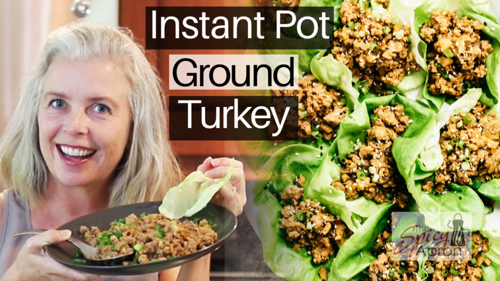 Instant Pot Ground Turkey Lettuce Wraps video thumbnail
