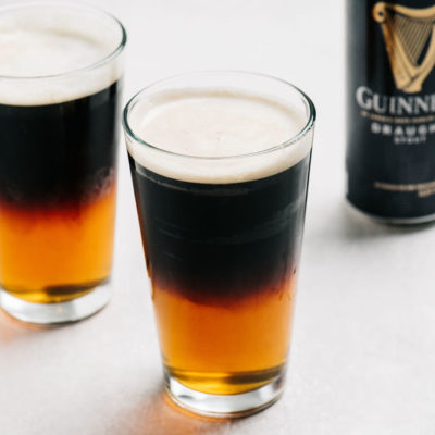how to make a black and tan beer with guinness