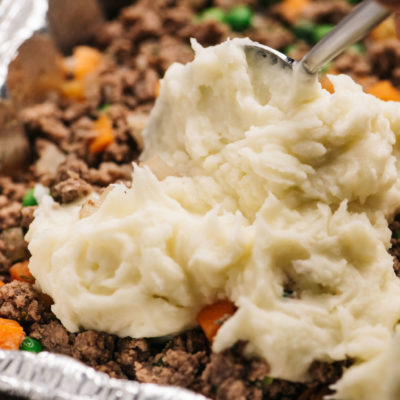 Camping Dinners | Make Ahead Shepherd's Pie