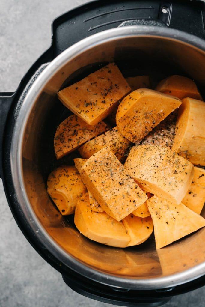 Instant Pot Sweet Potatoes Vertical