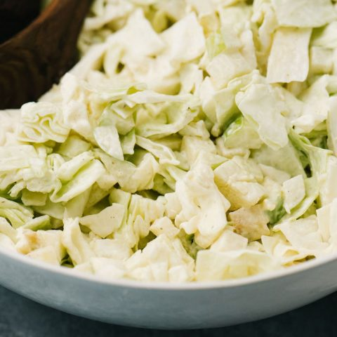 Homemade Coleslaw Recipe | Ready in 10 Minutes!