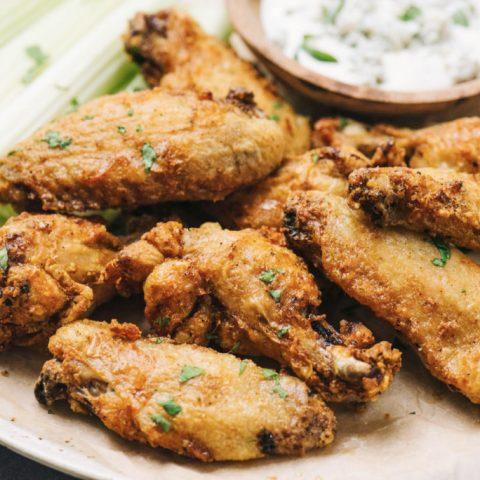 Crispy Air Fryer Wings